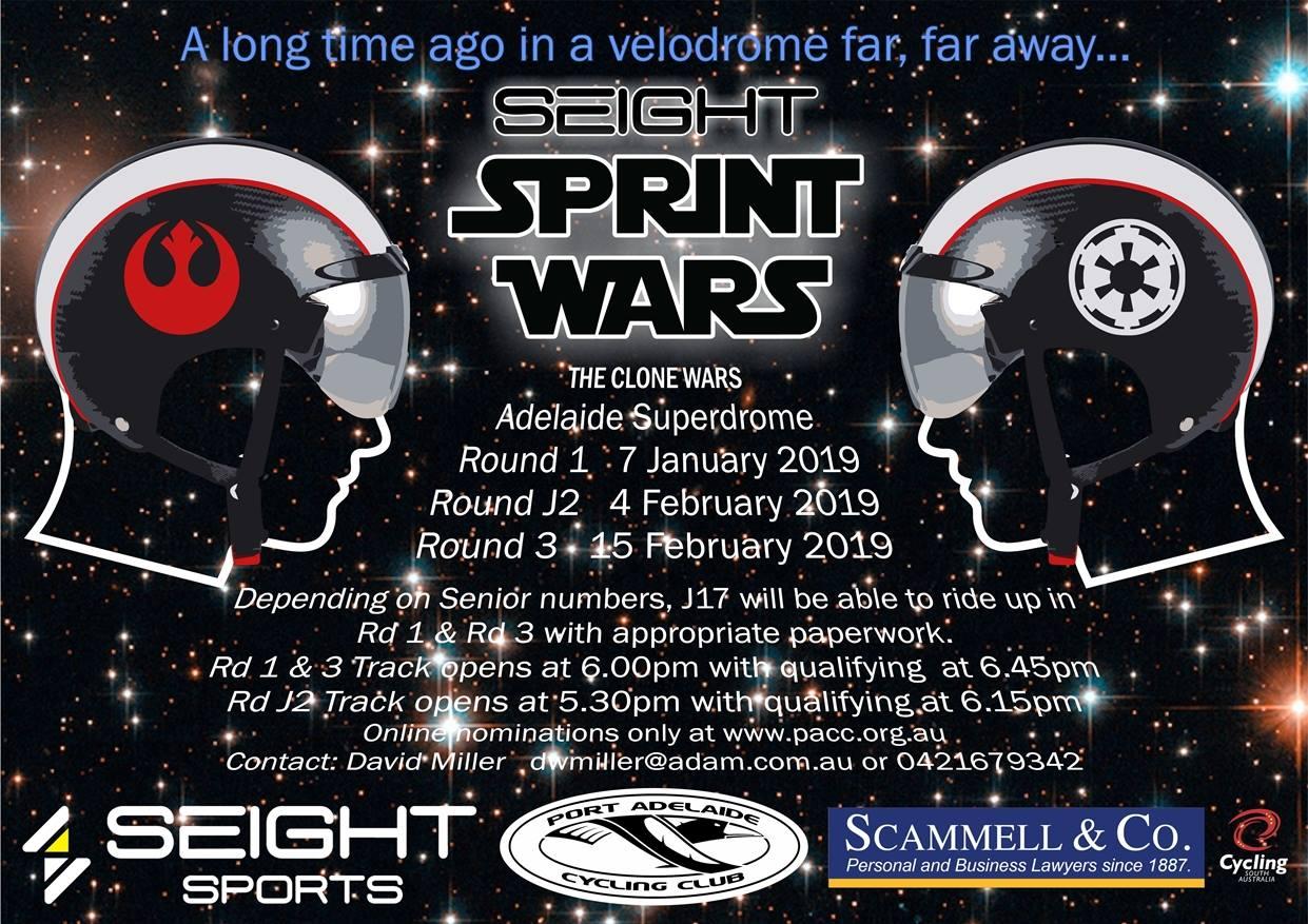 Seight Sprint Wars