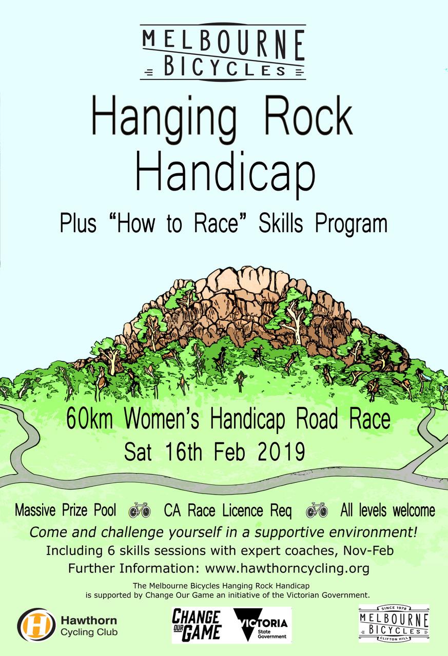 Hanging Rock Women's Handicap Road Race